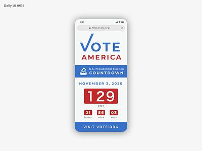 Daily UI #014 - Countdown Timer countdown timer vote countdown countdowntimer dailyui 014 daily ui dailyuichallenge dailyui