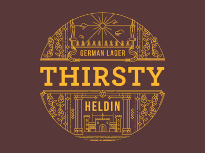 Heldin - Label Design
