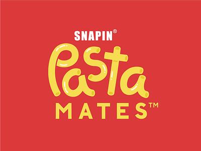 SNAPIN Pastamates Identity logo sachets flavouring italian food red sauce studio mumbai india yummy foodbeverage pasta branding