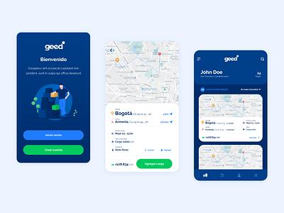 Geed undraw product design mobile app design sprint ux transport app ui