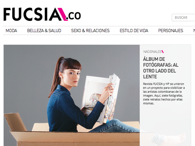 Fucsia.co magazine fucsia colombia redesign responsive news website ui ux semana
