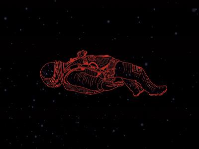 Artist/Gig Poster - Flume astronaut flume band poster artist poster gig poster