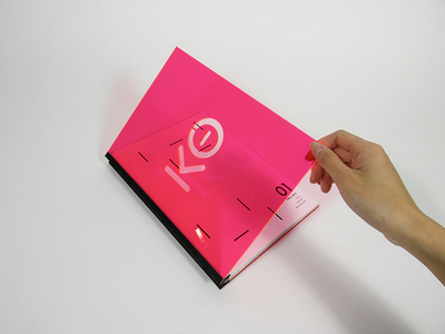 Knockout - Experimental Publication sagmeister layout editorial typography publication