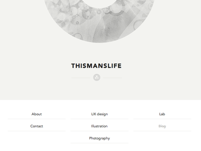 Portfolio redesign thismanslife portfolio