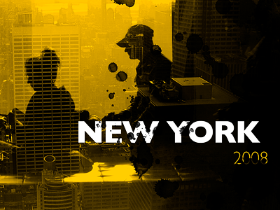 New York 2008 new york ny yellow cab montage 2008