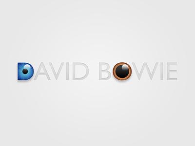 David Bowie david bowie eyes type typography oddballs
