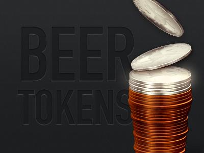 Beer Tokens beer tokens booze pint ale delicious