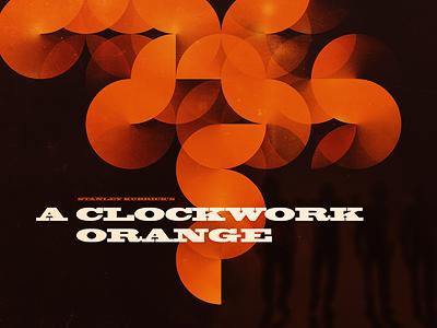 Clockwork Orange film kubrick poster clockwork orange