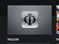 Phiculator icon