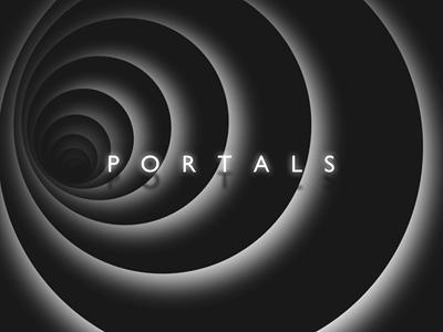 Portals portals html css nojs experiment circles code