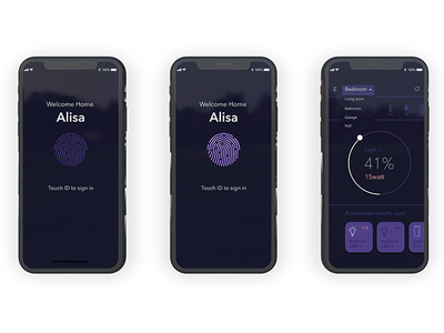 Smart Home App experience ui ux design ui adobe xd aplication