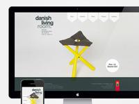 Danish Living Room Website
