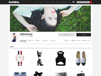 Fashiolista's Profile Page