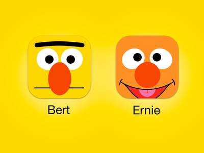 Sesame Street iOS icons 2