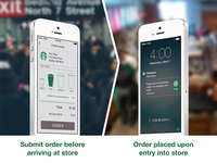 Concept - iBeacon detection to complete a transaction