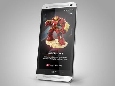 Day 027 - Hulkbuster Card android infinity disney mobile hulkbuster