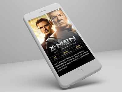 Day 049 - Movie Card ios card movie app mobile