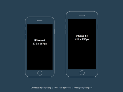 Free: Slate style iPhone 6 / 6+ wireframes [Sketch] plus 6 iphone sketch wireframes