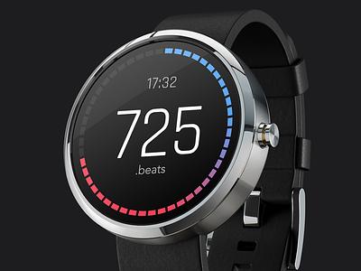 Day 072 - Clock wear android watchface clockface watch clock 360 moto