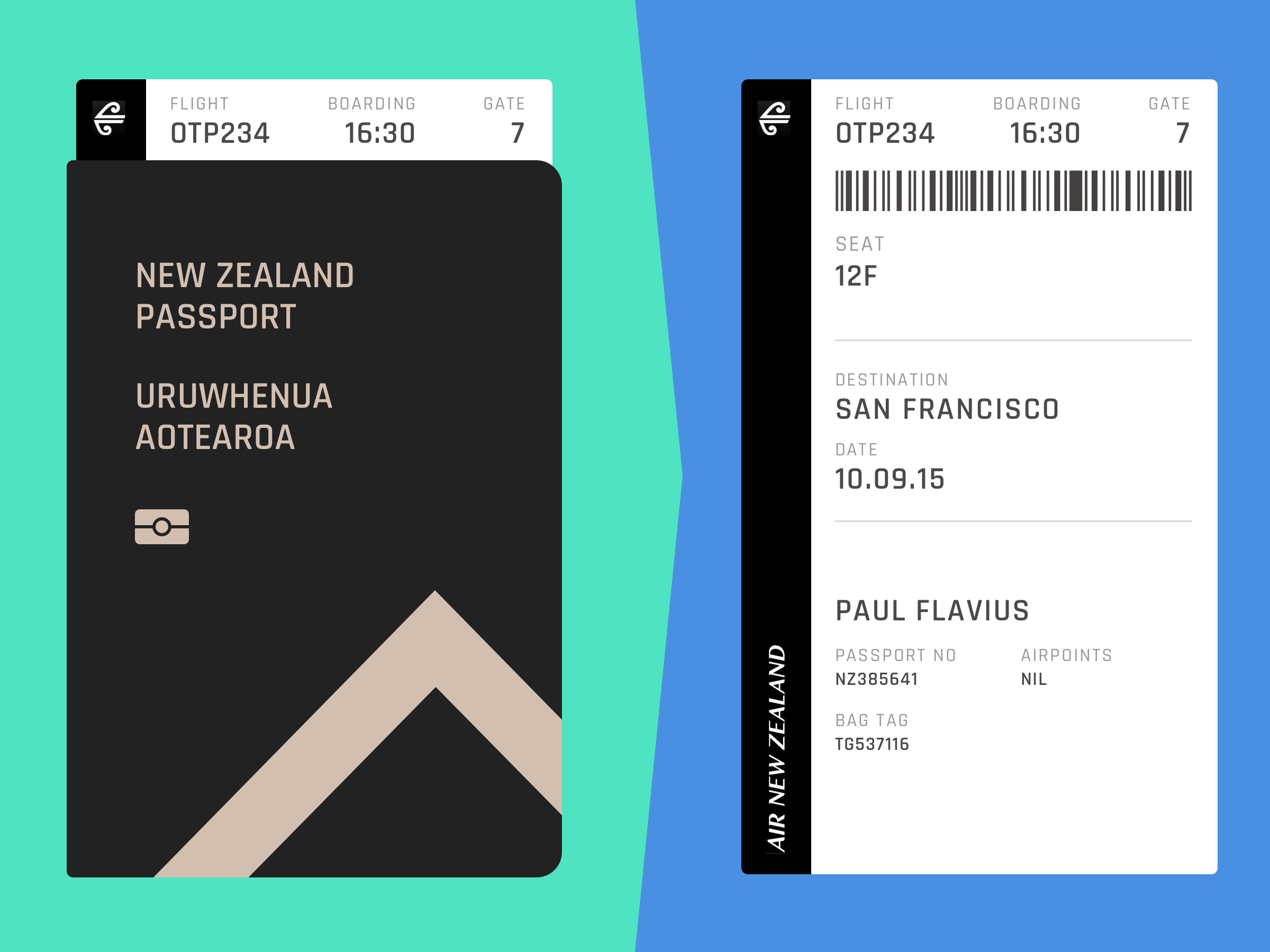 Boarding pass full