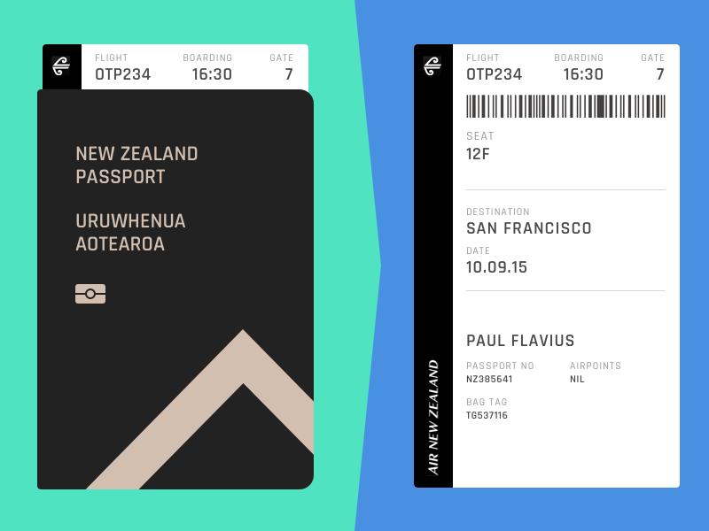 Day 074 - Boarding Pass pass boarding