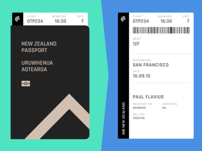 Day 074 - Boarding Pass pass boarding