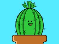 The Happiest Cactus