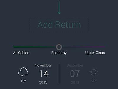 Find my flight app mobile ui design flat icon flight ticket ux iphone interface