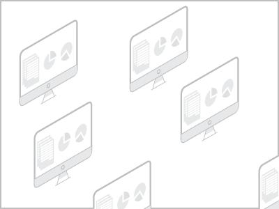 iMac isometric pen icon