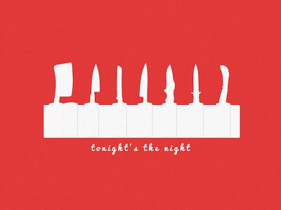Dexter Tonight's the Night knife tonight series tv dexter