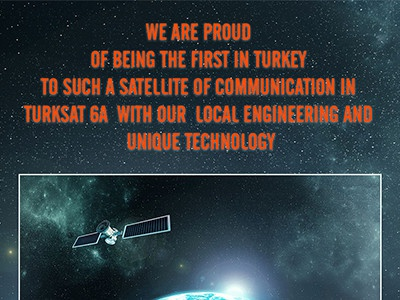 Turksat 6A marketing social network turkey communication satellite turksat 6a turksat