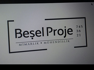 Besel Proje engineering sign architecture logo tabela mimarlık