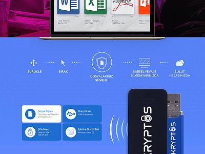 Product Showcase - 6 emre kilic tasarım landing page design data security cyber security product showcase