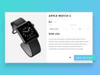 Product Card - Apple Watch 2