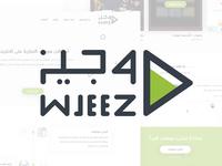 Wjeez - Landing Page