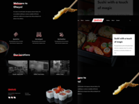 Sushi Restaurant Website 🍣
