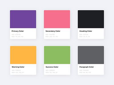 Katib&Kitab - Colors Scheme colors scheme color ux ui shop library books