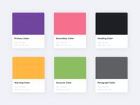 Katib&Kitab - Colors Scheme