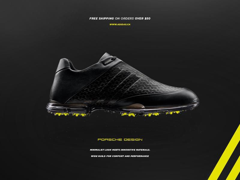 Adidas Advertisement Porsche Design Shoes by William Biron