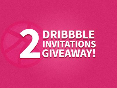 Invitation Giveaway dribbble invitation giveaway