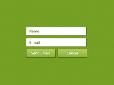 Green Web Elements