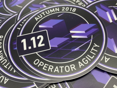 1.12 Release Stickers sticker services developers containers space mesosphere