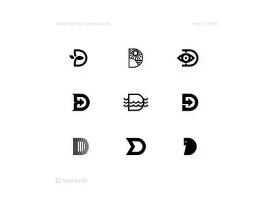Letter D d logo letterforms lettermark logomark logo designer logo design logo mark logodesign logotype logos logo