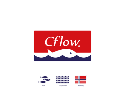 Cflow logodesign norway ocean sea fisherman fishing fish logotype logo design tovarkovdesign logos logo