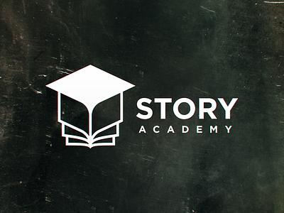 Story  Academy logodesign logos logo design mark symbol logomark identity branding logotype logo