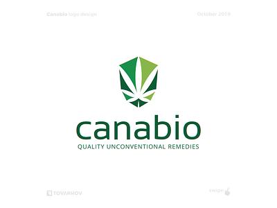 Canabio cannabidiol cbd marijuana logo marijuana cannabis design cannabis logo cannabis hemp logos logotype logodesign logo design logo