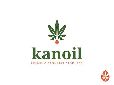 Kanoil cannabidiol cannabis design cannabis logo cannabis cbd oil cbd hemp marijuana marijuana logo logos logotype logo design logo