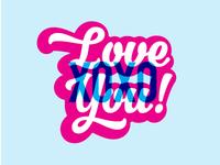 Love You XOXO