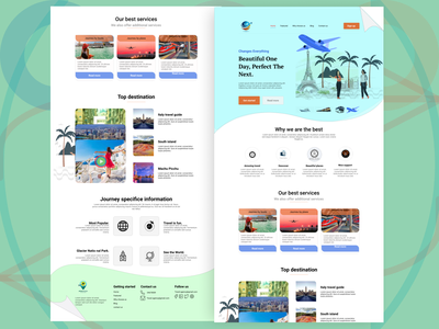 Travel landing page travel animation modern kids shopping app texture ecommerce design product design ui  ux illustrations web design uidesign