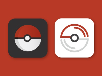 Daily UI #005 – App Icon pokemon go app design app icon ui 005 dailyui